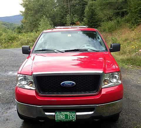 The 2007 Ford has been a reliable tow vehicle for us but was showing its age.