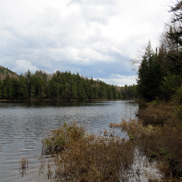 Russ Pond on a May morning - 2014