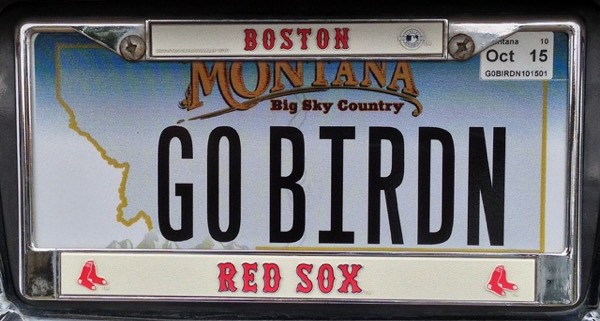 This one (with a bonus Red Sox frame) is from our next door neighbors in Texas, Ray and Linda. Ray is a former Vermonter from Wilmington.