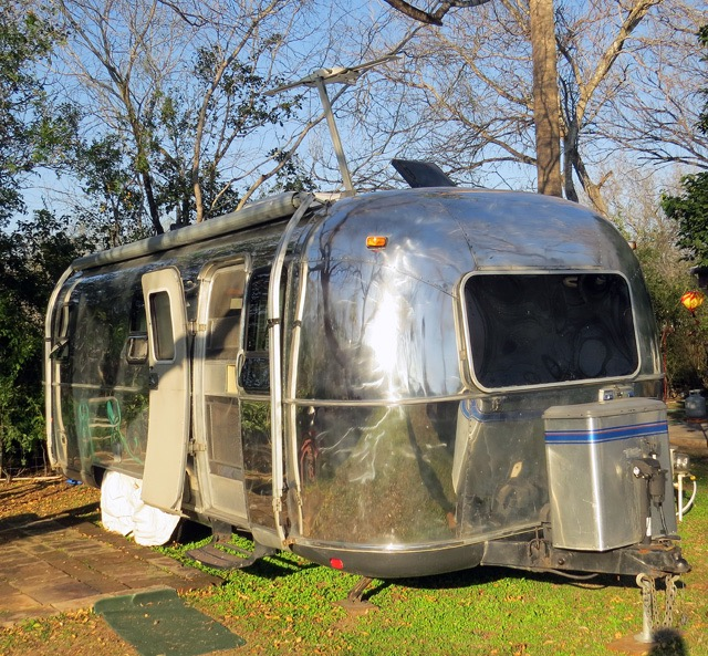 Our '99 Airstream, shown here in Mission, TX, has served us well